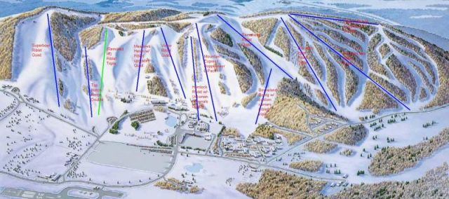 boyne mountain map