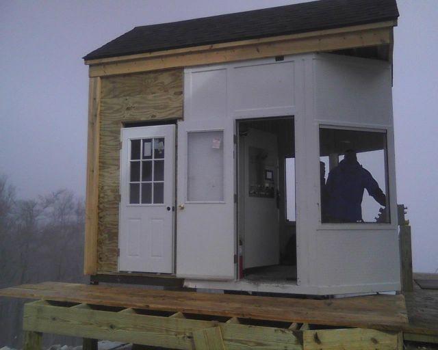10 Drive Hut Finished