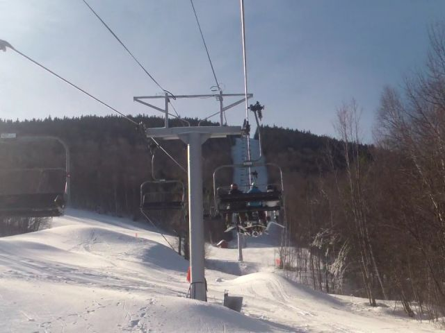 Barker Mountain Express Lift Line